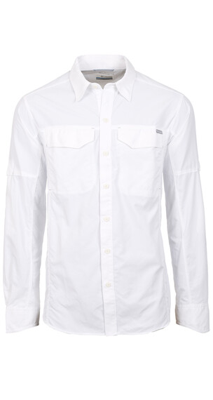 Columbia Silver Ridge Long Sleeve Shirt Men white
